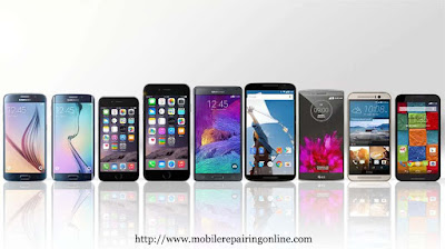 The latest smartphones 2015