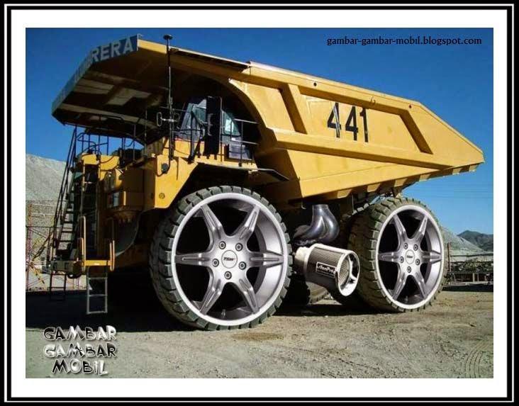 foto mobil terbesar di dunia