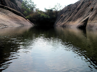 Rainfed Lake on Ramdevara Betta at Ramanagaram
