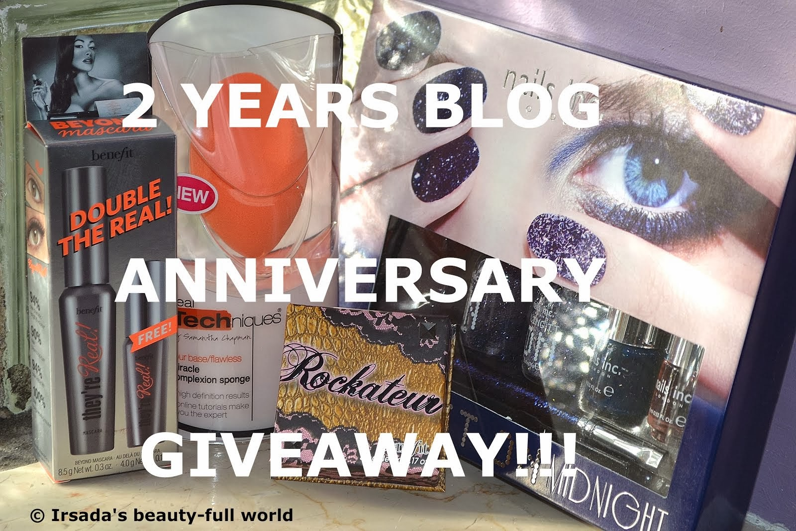 My 2 Years Blog Anniversary Giveaway!!!