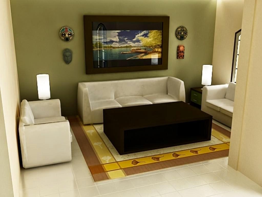 Dekorasi ruang tamu kecil 3