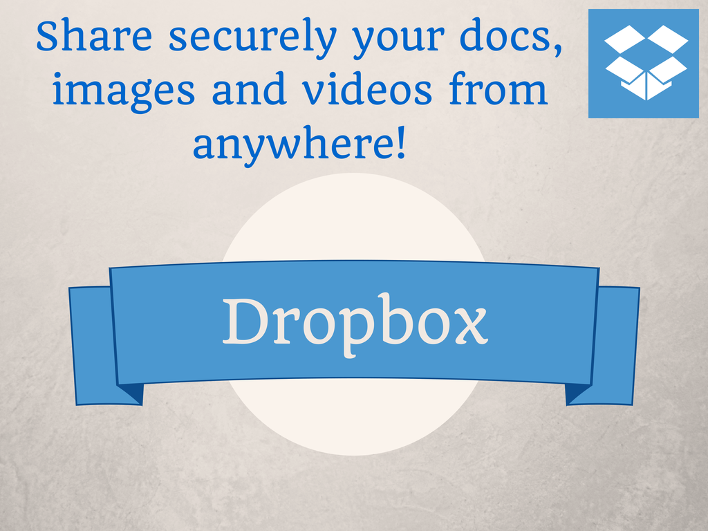 Dropbox - create and share files anywhere