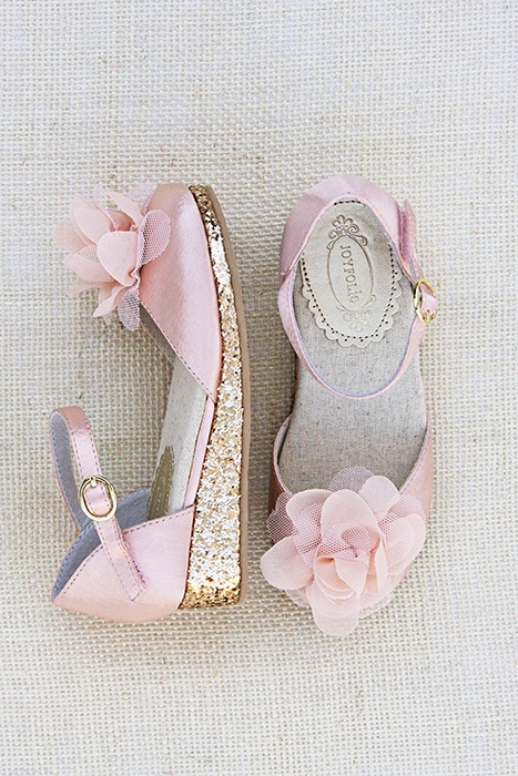 Pink Wedding Shoes With Crystals