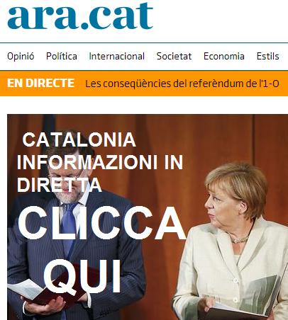 CATALONIA - INFORMAZIONE IN DIRETTA