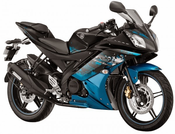 Yamaha YZF-R15 Two New Paint Schemes