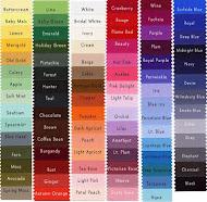 Carta Warna Untuk Rujukan