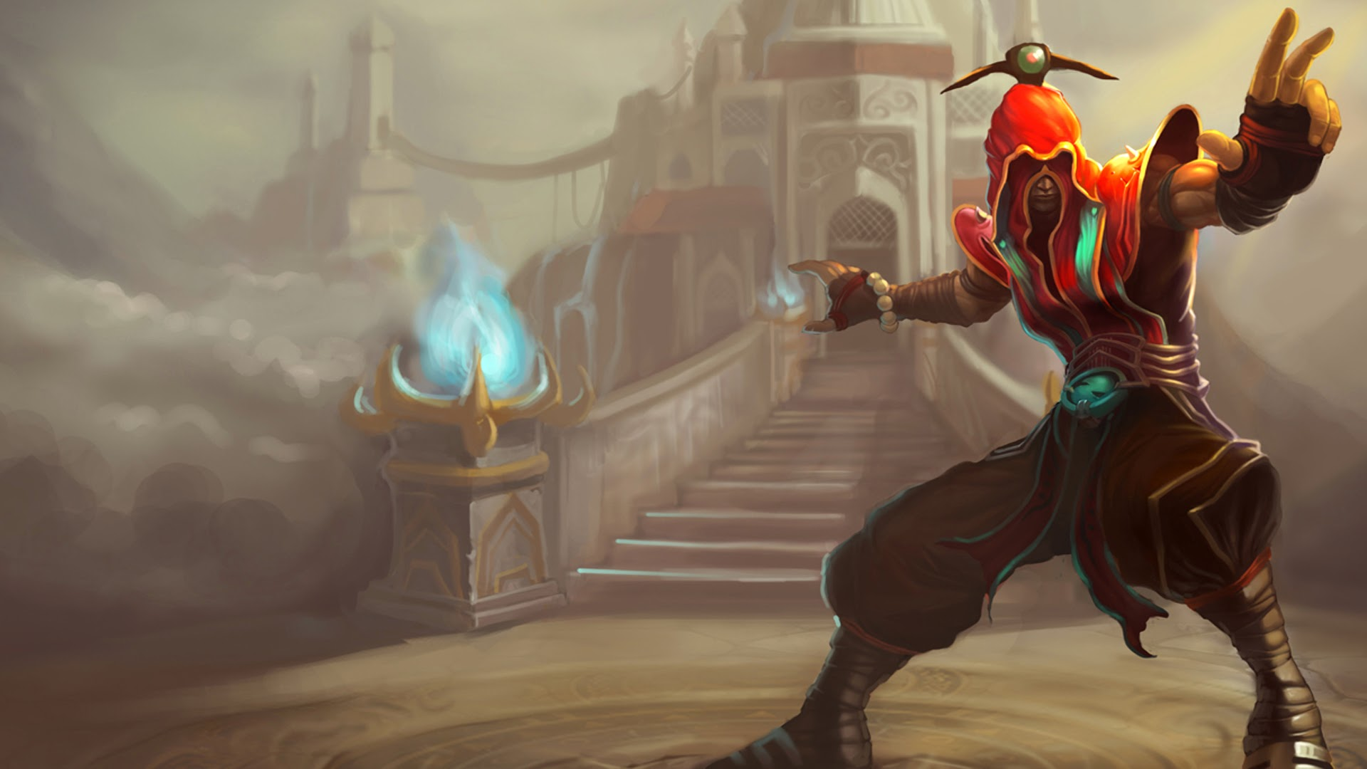 Acolyte Lee Sin League of Legends 20 Wallpaper HD