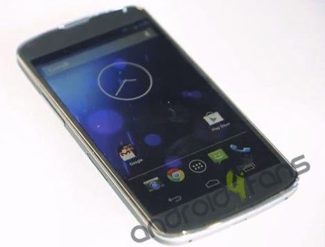 Android-Smartphone Nexus 4