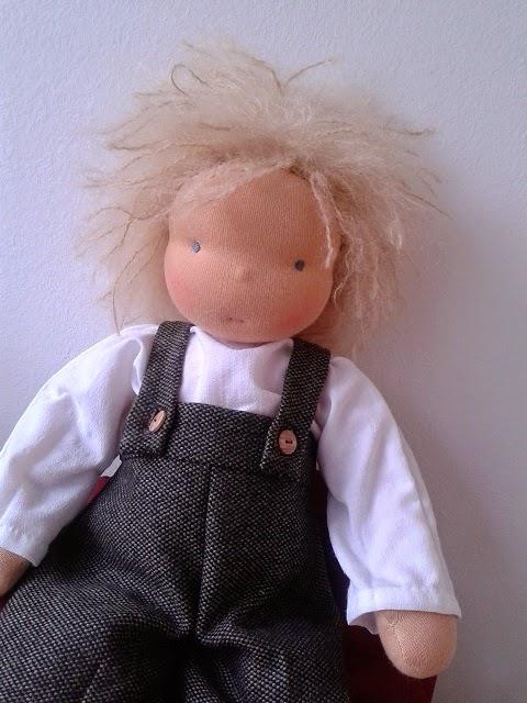 Puppenkleidung waldorf selber machen