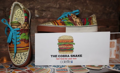 ZAPATILLA HAMBURGESA TENNIS THE COBRA SNAKE