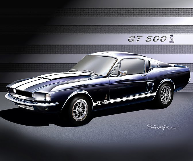 Extremsportscar 1967 Shelby Mustang Gt 500