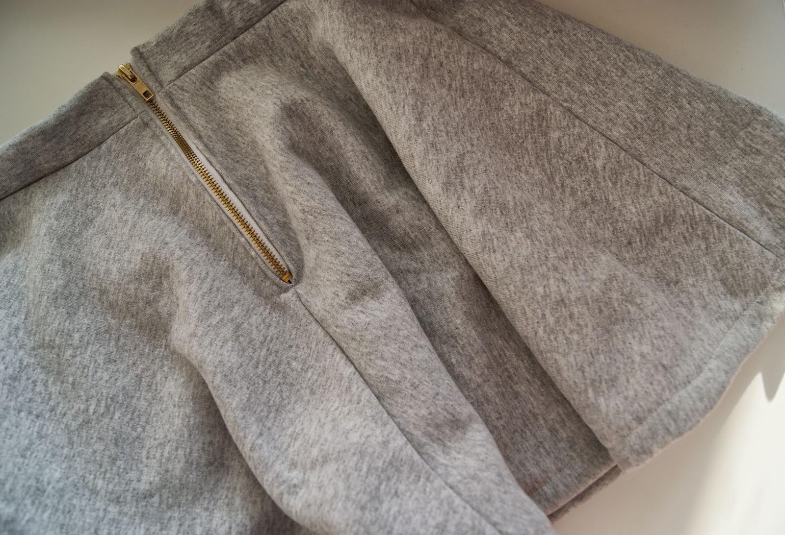 dresowa spódnica z koła 3