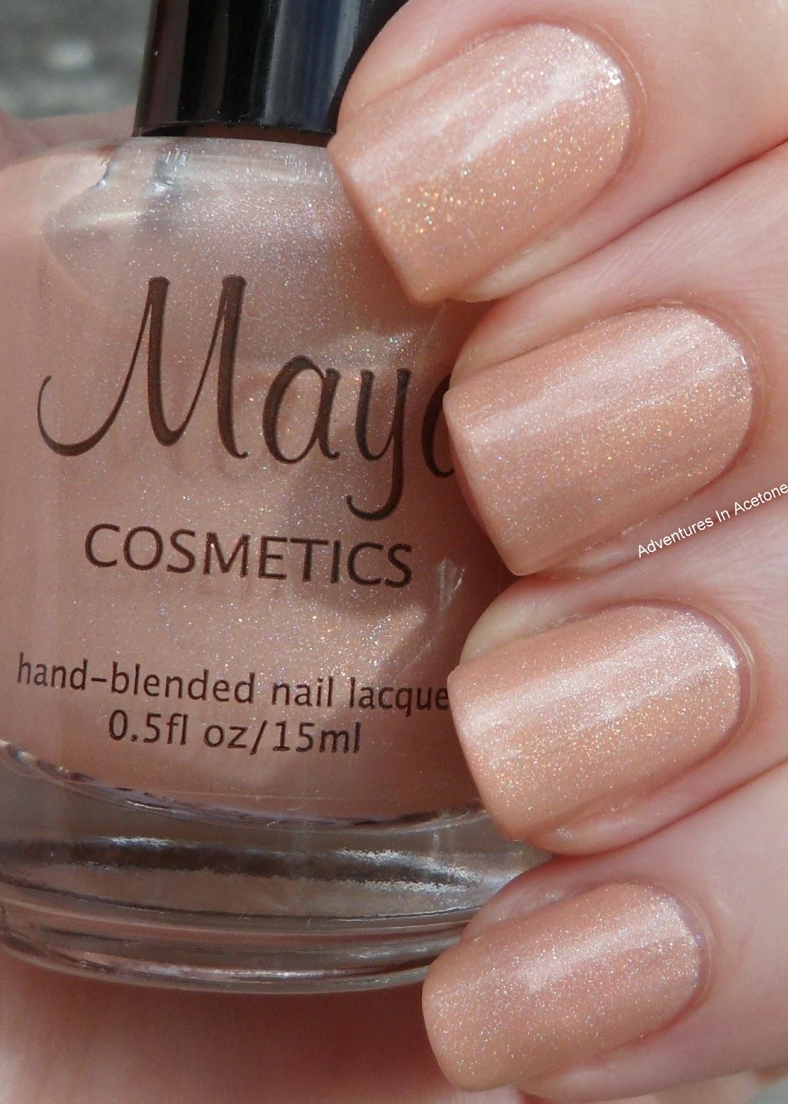 New Maya Cosmetics Polish Swatches! - Adventures In Acetone