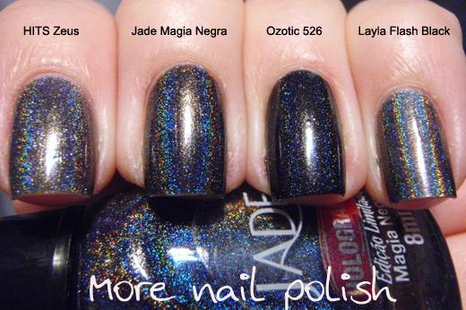 Jade Magia Negra ~ More Nail Polish
