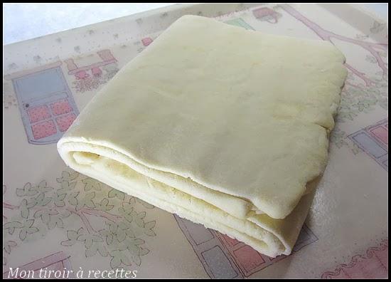 pâte feuilletée inversée
