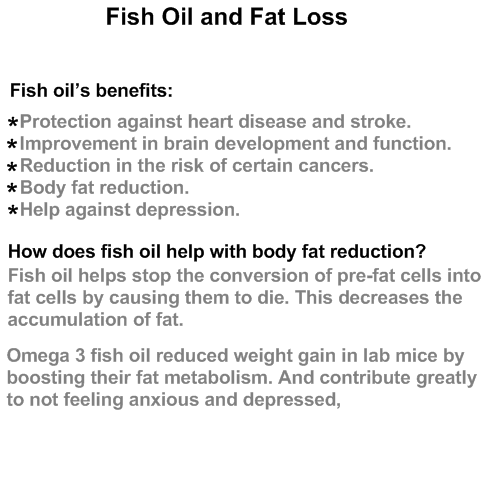 Fish Oil Fat Burn As You Never Hear Befor