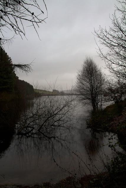Rainy Day at Digley