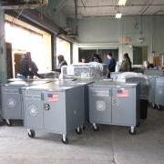voting machines, us elections, fedex