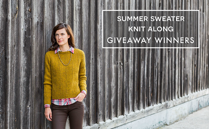Summer Sweater Knit Along 2014 Giveaway Winner on VeryShannon.com #sskal14