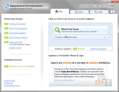 Download Free Spyware Terminator 3.0.0.61