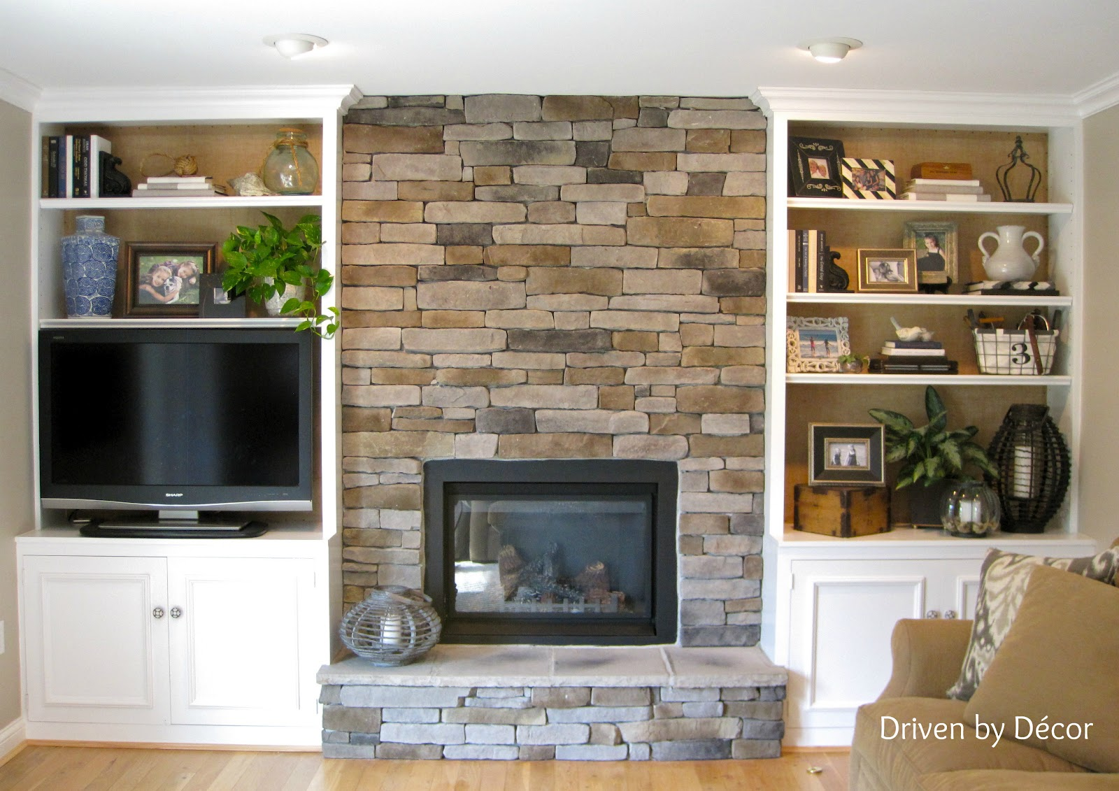 Was A Low Down On Designing The Stone Veneer Fireplace