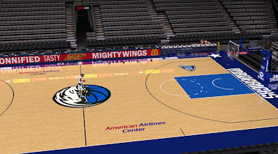 NBA 2K14 Dallas Mavericks Court Update