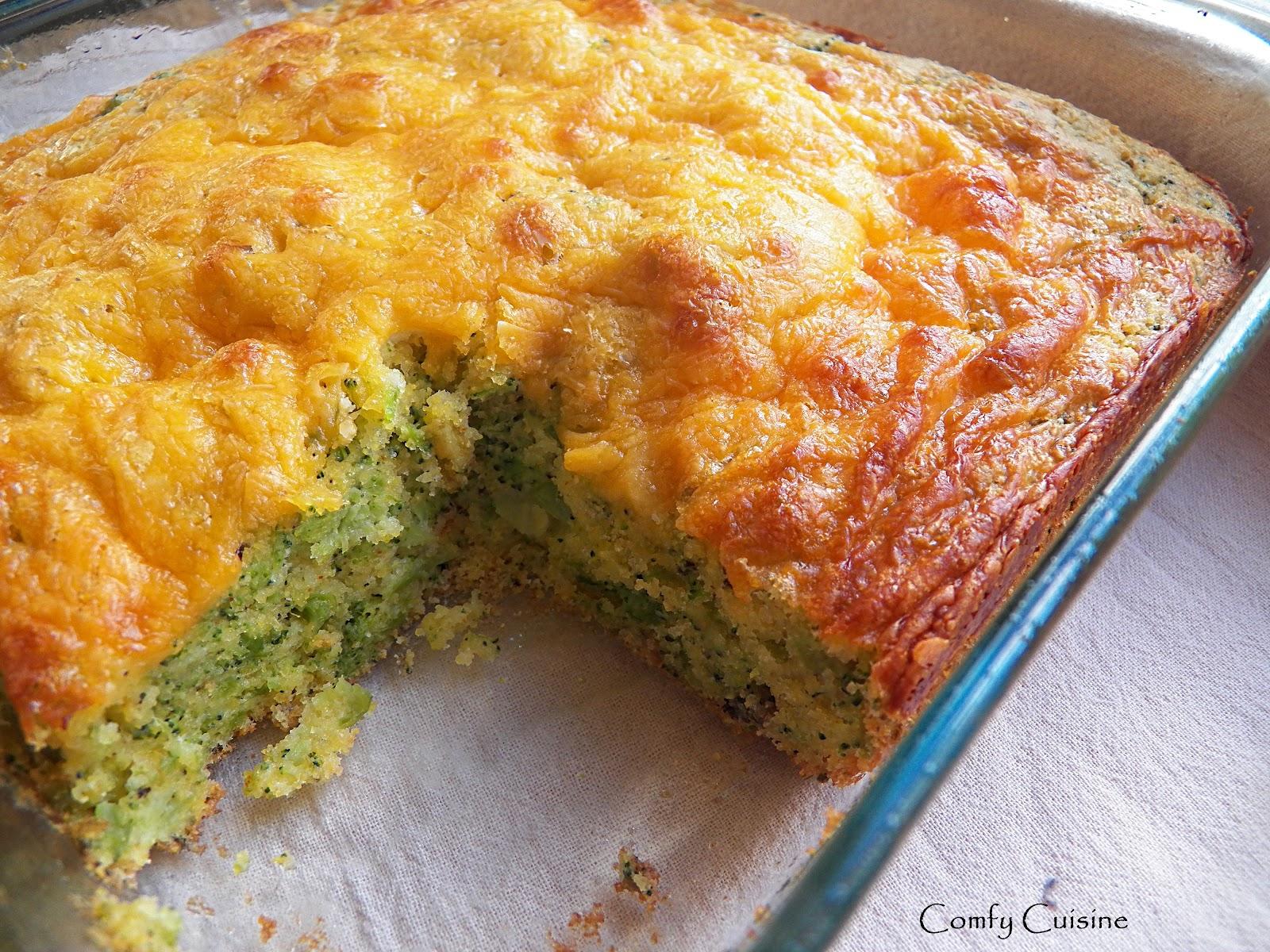 Comfy Cuisine: Broccoli Cheese Cornbread