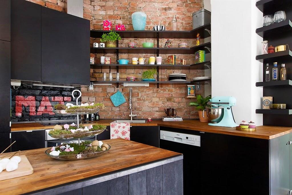 Una cocina llena de detalles - Fluorescentes cocina ikea ...