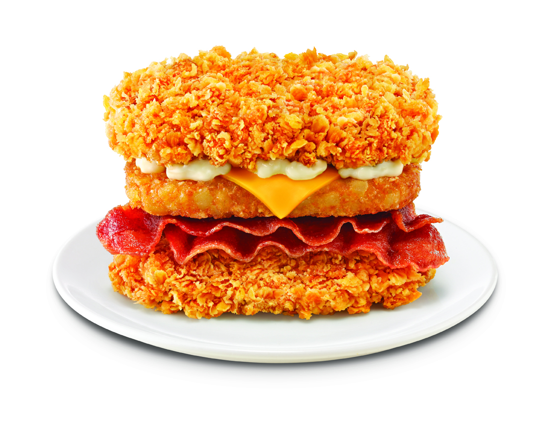 KFC Zinger Double Down MaxZinger Double Down