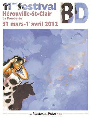 Festival BD d'Hérouville-Saint-Clair - Des Planches et des Vaches 2012 : informations pratiques