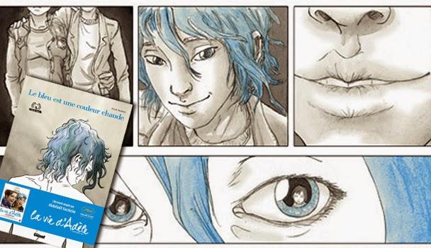 Resenha da HQ Azul é a cor mais quente, de Julie Maroh