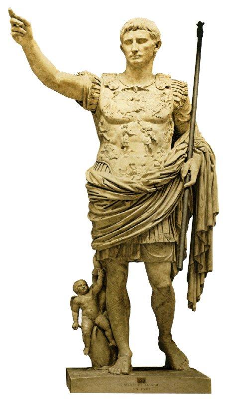 Historia del arte for Augusto roma