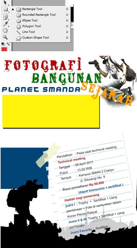 Tutorial Cara Mudah Membuat Poster Keren dengan Photoshop