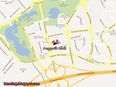 shah alam maps