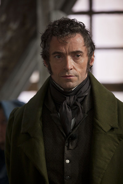 les miserables movie, huge jackman