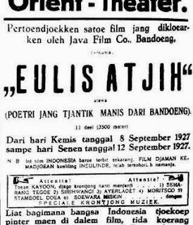 4 Film Pertama di Indonesia
