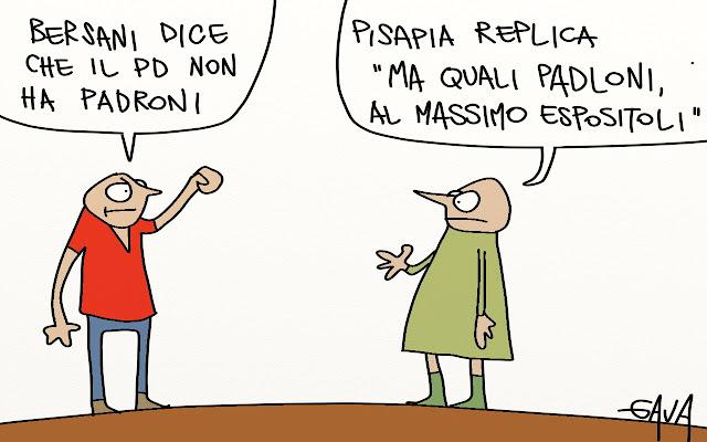 Gava satira vignette Padloni Pisapia Espositoli