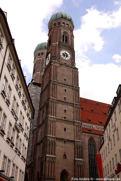 Munich, München, tyskland, germany, deutschland, frauenkirche, der münchner dom, domkyrka, cathedral