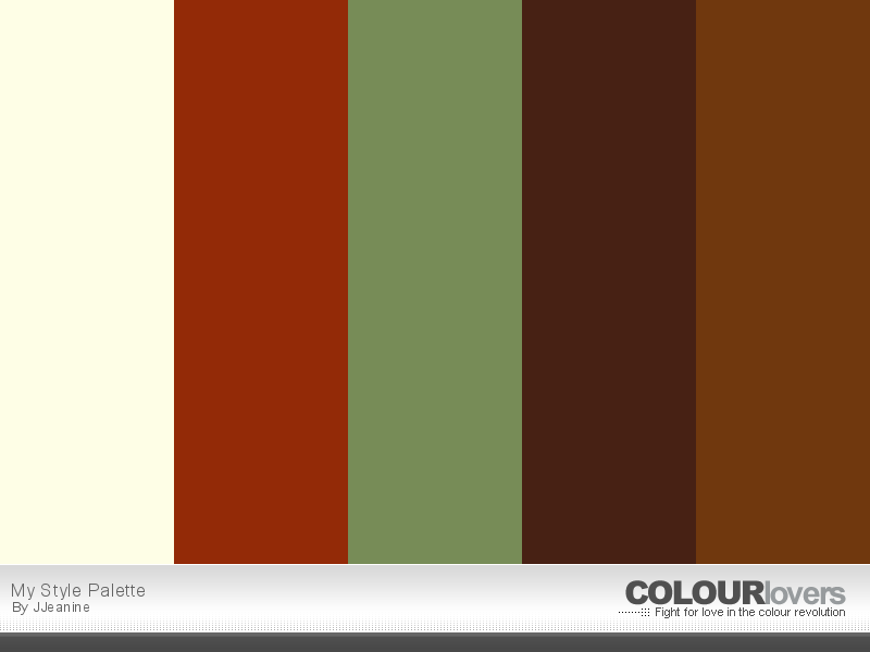 Warm colour schemes for living rooms