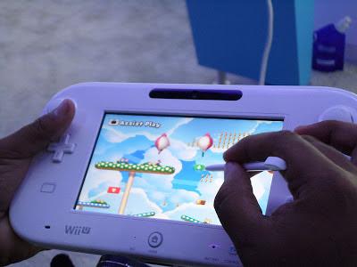 Super Mario on WII U