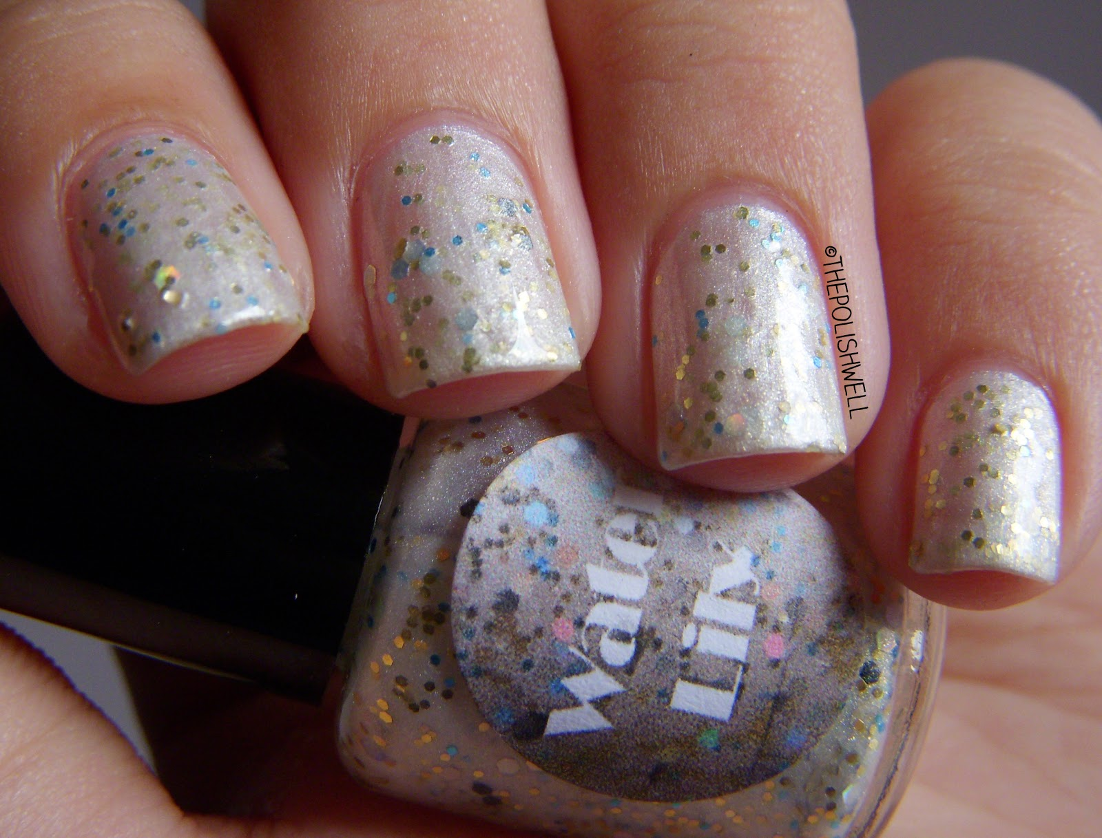 Sparkles By Julie Bubble Gum And Waterlily Nail Art