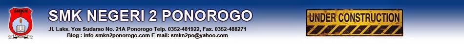 Info SMK Negeri 2 Ponorogo
