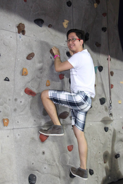 Rock Climbing in Sky Experience Adventure Cebu