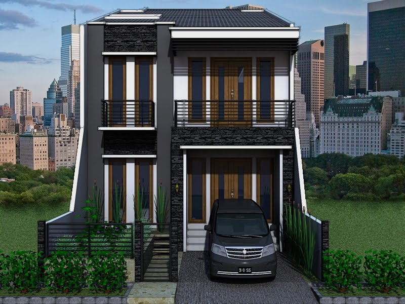 Judul: Gambar Rumah Minimalis Modern dan Sederhana