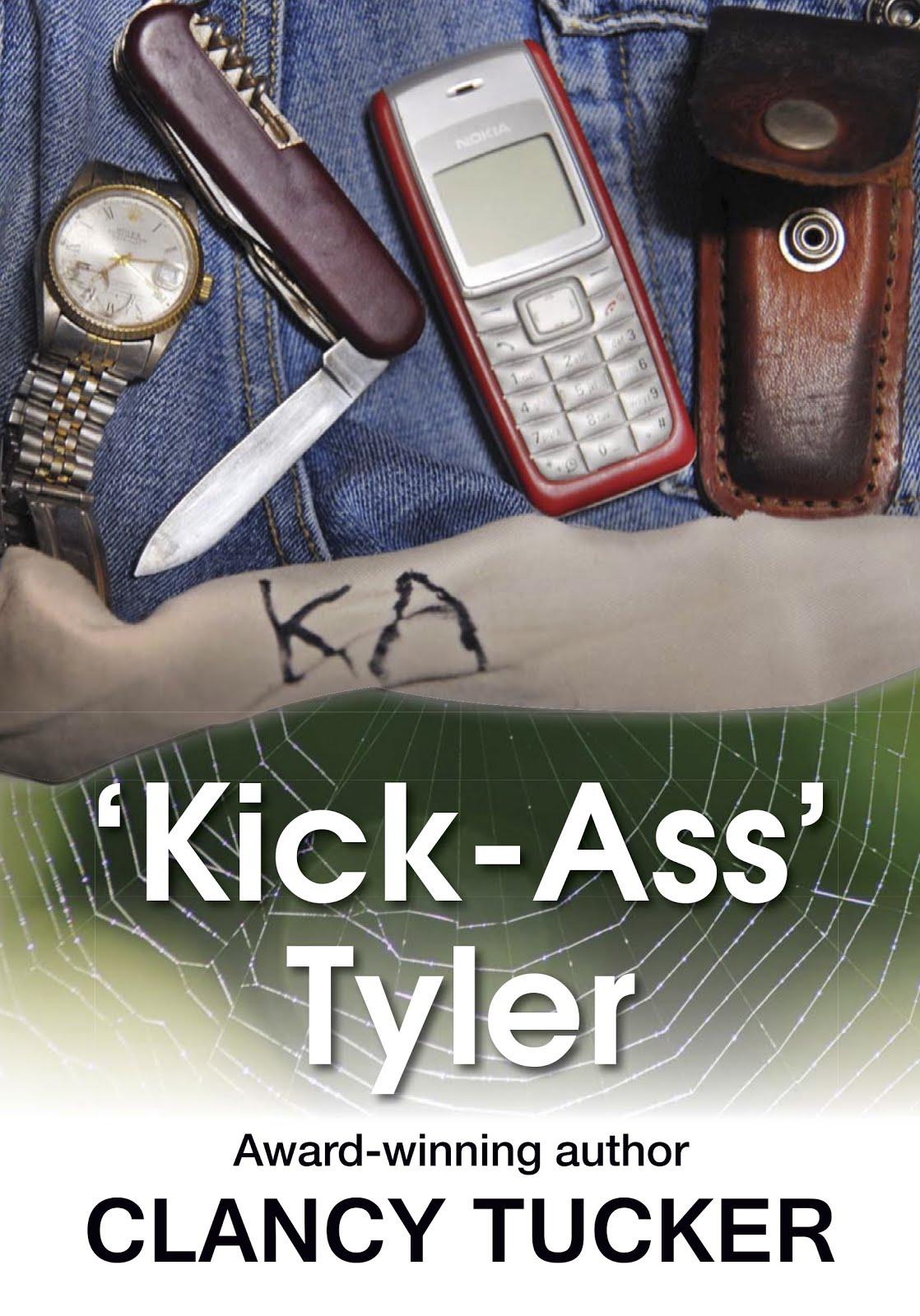 'KICK-ASS' TYLER PAPERBACK - AUSTRALIA