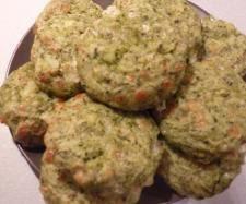 Kotlety ziemniaczano - szpinakowe :-)
