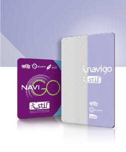 Passe Navigo (crédit photo RATP / STIF)