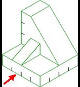 Figura 26: Sistema diédrico - obtención de vistas