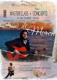 """MASTER CLASS """"DANI DE MORÓN"""""""