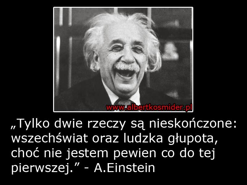 Albert Einstein cytat